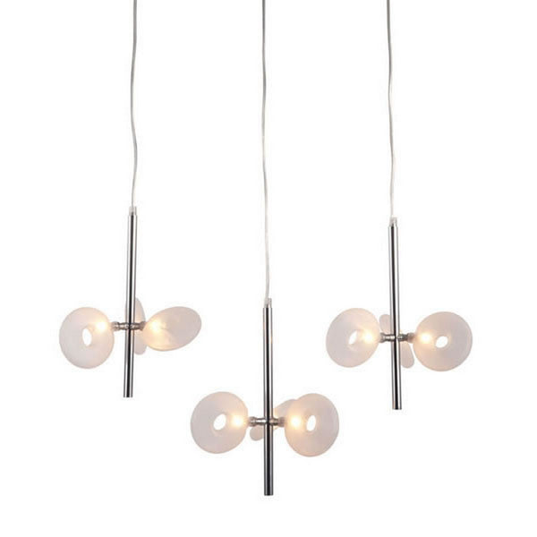 Zuo Modern Twinkler Ceiling Lamp Chrome - 50076