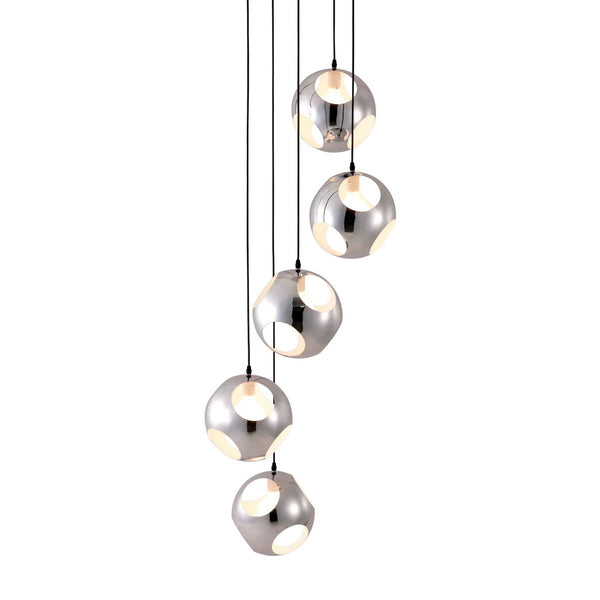 Zuo Modern Meteor Shower Ceiling Lamp Chrome - 50102