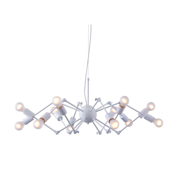 Zuo Modern Sleet Ceiling Lamp White - 50142