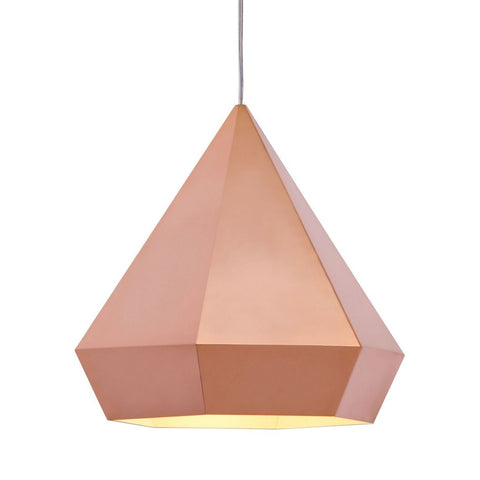 Zuo Modern Forecast Ceiling Lamp Rose Gold - 50174