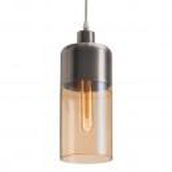 Zuo Modern Vente Ceiling Lamp Satin & Amber - 50314