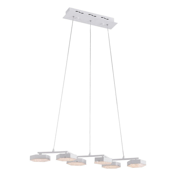 Zuo Modern Dunk Ceiling Lamp White - 56031