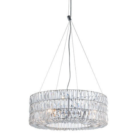 Zuo Modern Jena Ceiling Lamp Chrome - 56057