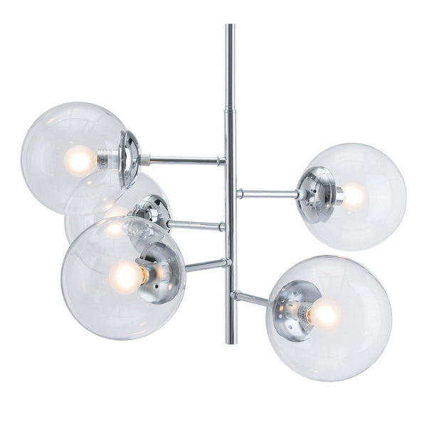 Zuo Modern Somerset Ceiling Lamp Chrome - 56060
