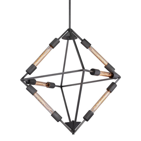 Zuo Modern Union Ceiling Lamp Rust - 56067