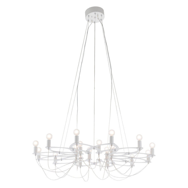 Zuo Modern Scala Ceiling Lamp White - 56069