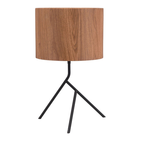 Zuo Modern Sutton Table Lamp Brown & Black - 56072