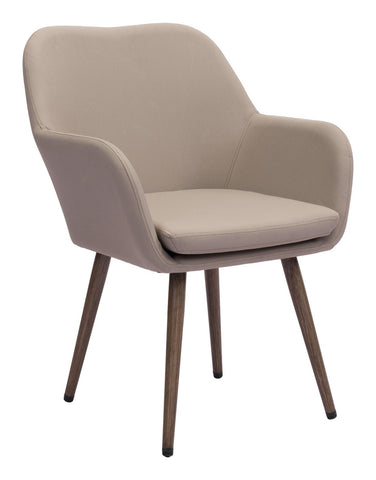Zuo Modern Pismo Dining Chair Taupe - 703843
