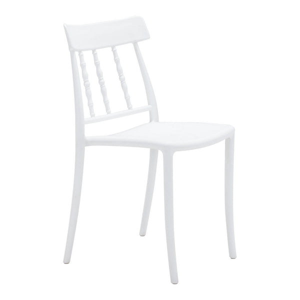 Zuo Modern Rift Dining Chair (Set of 2) White - 703906