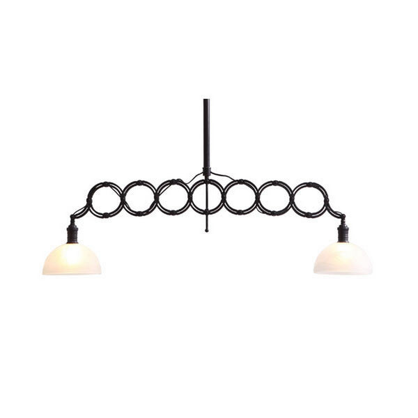 Zuo Modern Jade Ceiling Lamp Antique Black Gold - 98233