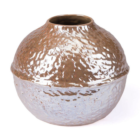 Zuo Modern Small Textured Vase Pearl Yellow - A10089