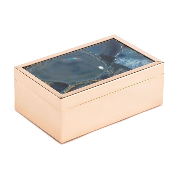 Zuo Modern Small Stone Box Blue - A10925