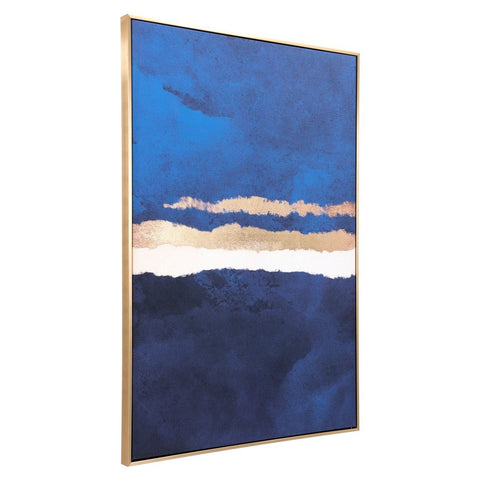 Zuo Modern Ocean Horizon Canvas Multicolor - A12193