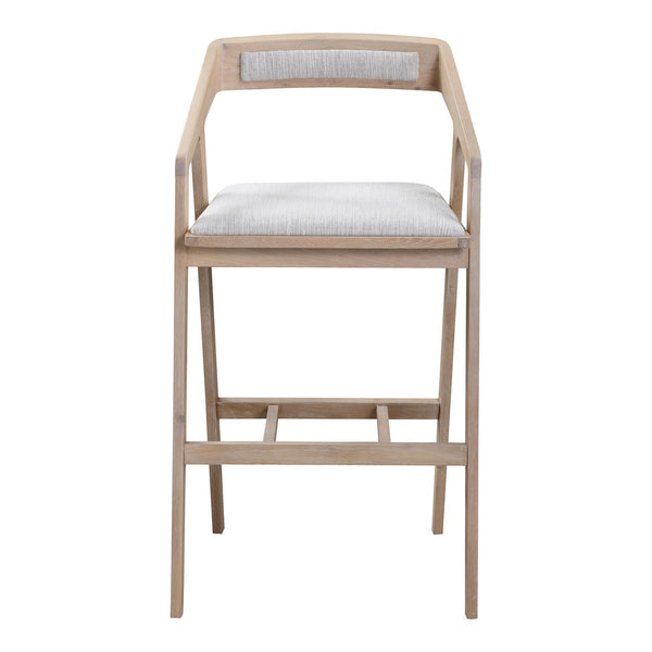 Moe's Home Collection Padma Oak Barstool - BC-1090-29
