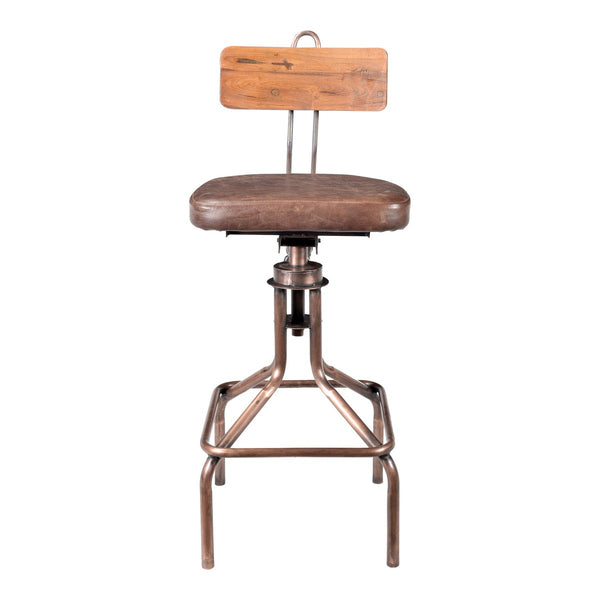 Moe's Home Collection National Barstool - DR-1255-42