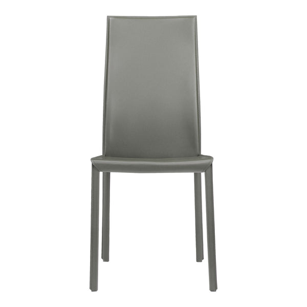 Moe's Home Collection Lusso Dining Chair Charcoal - EH-1000-25