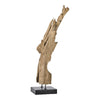 Moe's Home Collection Natural Teak Wood Sculpture - EI-1001-24