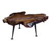 Moe's Home Collection Natural Teak Coffee Table - EI-1006-24