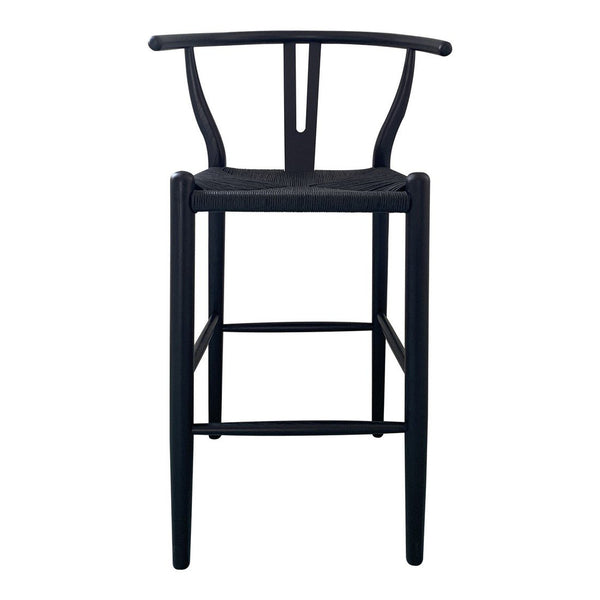 Moe's Home Collection Ventana Barstool Black - FG-1017-02