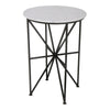 Moe's Home Collection Quadrant Marble Accent Table - FI-1012-02