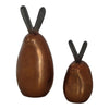Moe's Home Collection Bronze Bunnies Set Of 2 - FI-1044-42