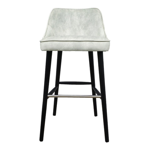 Moe's Home Collection Harmony Barstool White Smoke - FN-1041-05