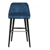Moe's Home Collection Harmony Barstool Navy Blue - FN-1041-46