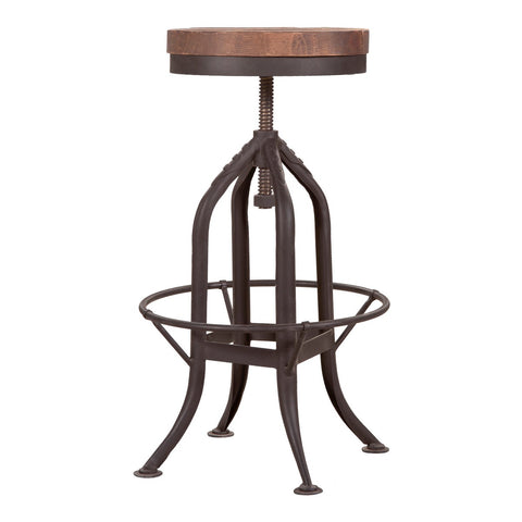 Moe's Home Collection Brut Barstool - FR-1000-24