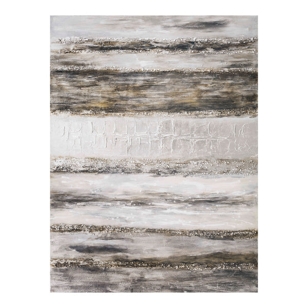 Moe's Home Collection Layered Grey Wall Décor - FX-1202-37