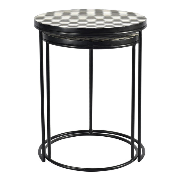 Moe's Home Collection Optic Nesting Tables Set Of 2 - GZ-1009-43