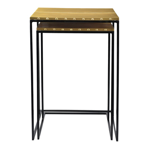 Moe's Home Collection Rivet Nesting Tables Set Of 2 - GZ-1011-43