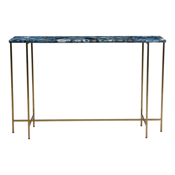 Moe's Home Collection Blue Agate Console Table - GZ-1131-26