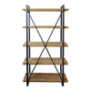 Moe's Home Collection Lex 5 Level Shelf Natural - HU-1086-24
