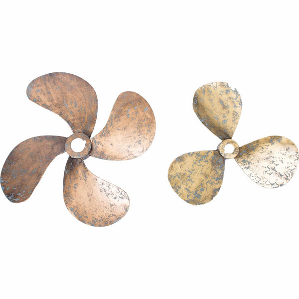 Moe's Home Collection Propellers Wall Décor Set Of 2 - HW-1044-32
