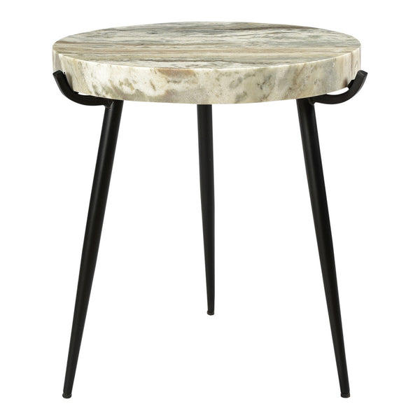 Moe's Home Collection Brinley Marble Accent Table - IK-1008-21