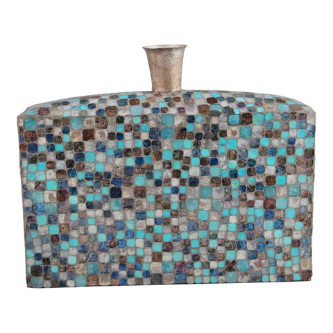 Moe's Home Collection Azul Mosaic Vase - IX-1077-28