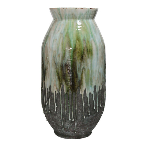 Moe's Home Collection Lindemann Ceramic Vase Green - JY-1002-16