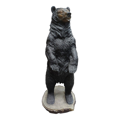Moe's Home Collection Kodiak Bear Statue - LA-1071-03