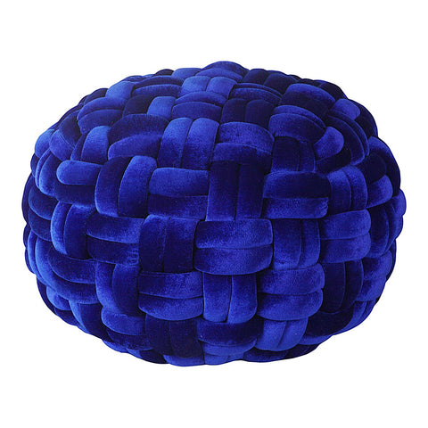 Moe's Home Collection Pj Velvet Pouf - LK-1002-26