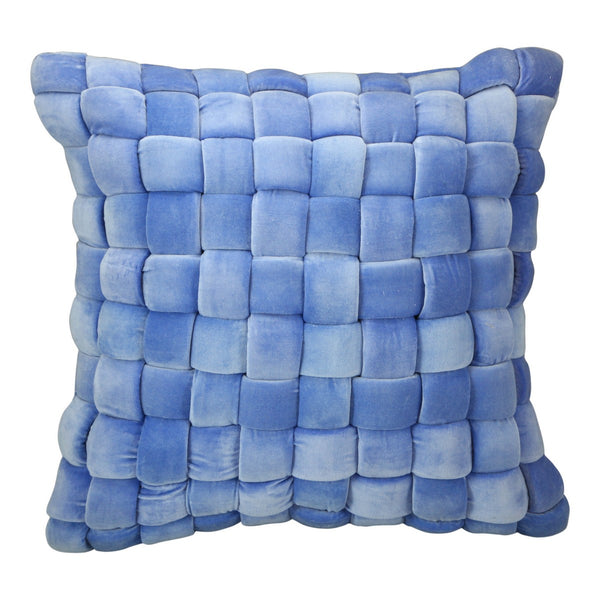 Moe's Home Collection Jazzy Pillow Sky Blue - LK-1006-28