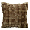 Moe's Home Collection Jazzy Pillow Sand - LK-1006-40