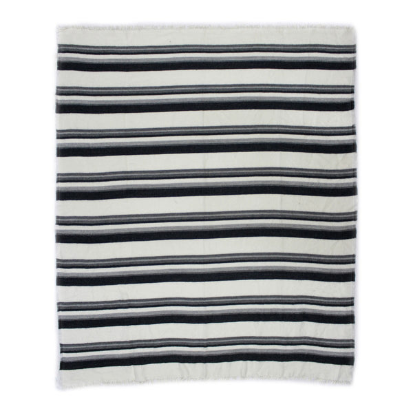 Moe's Home Collection Allfresco Throw Blue Stripes - OX-1021-46