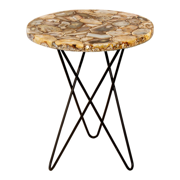 Moe's Home Collection Natura Agate Accent Table - PJ-1001-24