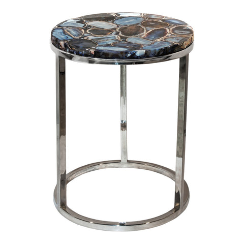 Moe's Home Collection Shimmer Agate Accent Table - PJ-1003-30