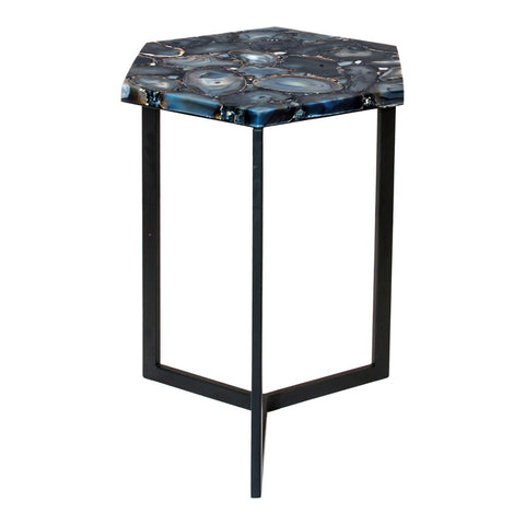 Moe's Home Collection Hexagon Agate Accent Table - PJ-1005-30