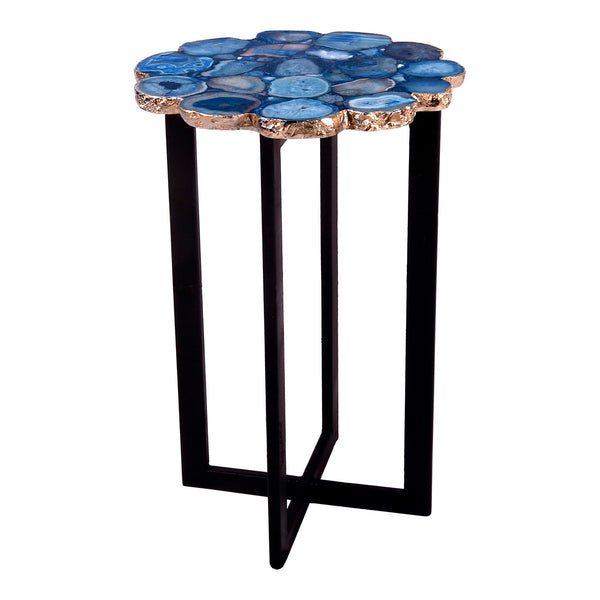 Moe's Home Collection Azul Agate Accent Table - PJ-1011-26