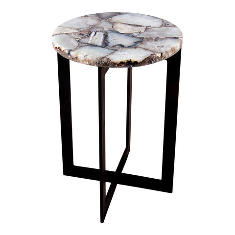 Moe's Home Collection Blanca Agate Accent Table - PJ-1012-18