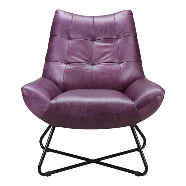 Moe's Home Collection Graduate Lounge Chair - PK-1063-10