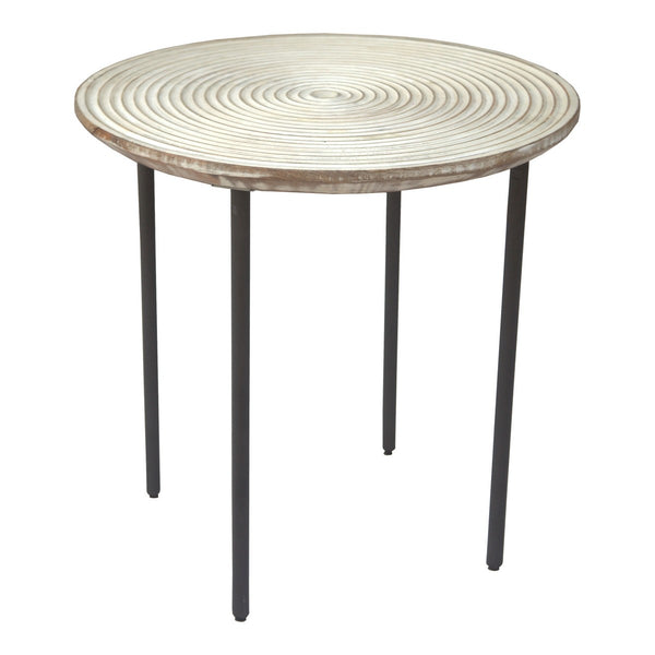 Moe's Home Collection Vortex Side Table - PP-1002-24