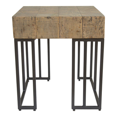 Moe's Home Collection Crosscut Side Table - PP-1008-25
